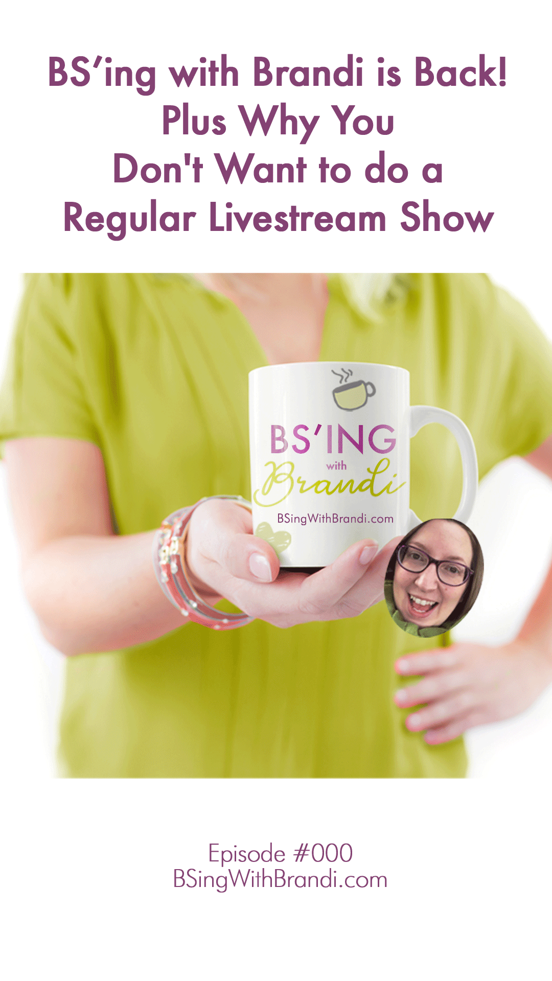 Want to know what BS'ing was, why it went away, and why it's coming back? This will answer all of your questions.  Oh, and there are some great tips about why you might not want to do a regular Facebook Live show :)