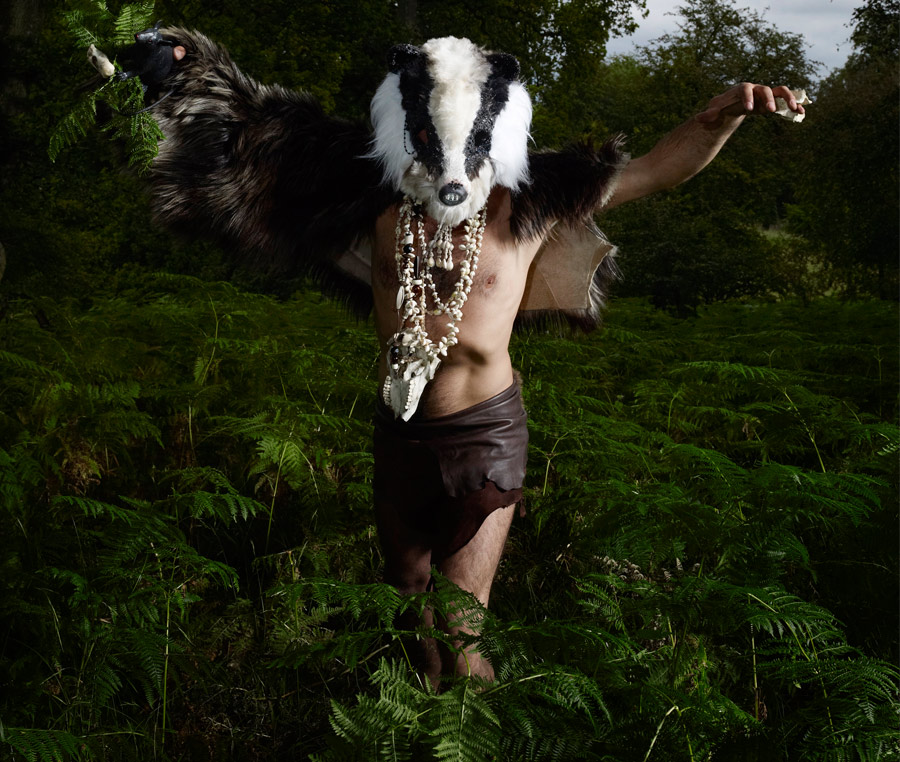 3, Silicone Badger Mask; Badger Badger Band. Ft in iD online. Photography by Dan Burn-Forti.jpg