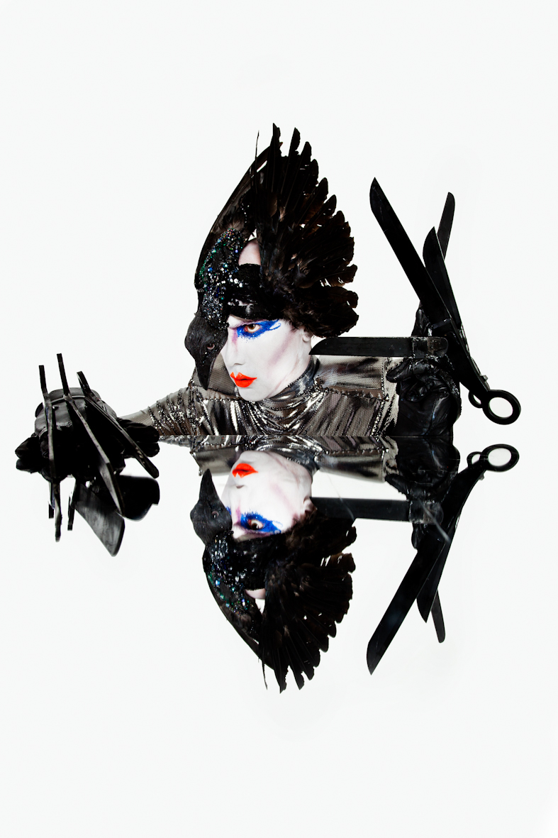 8, Silicone Sculpted Raven Headpiece. Ft in Vogue - Matilda Temperley photography.jpg