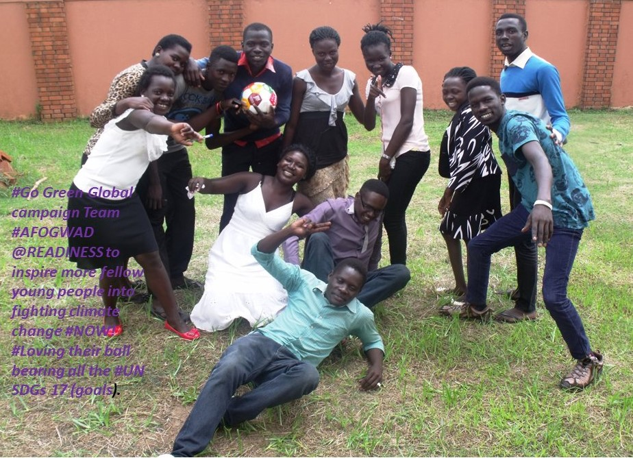 The AFOGWAD (Africans Focused on Global Warming and Development) Team