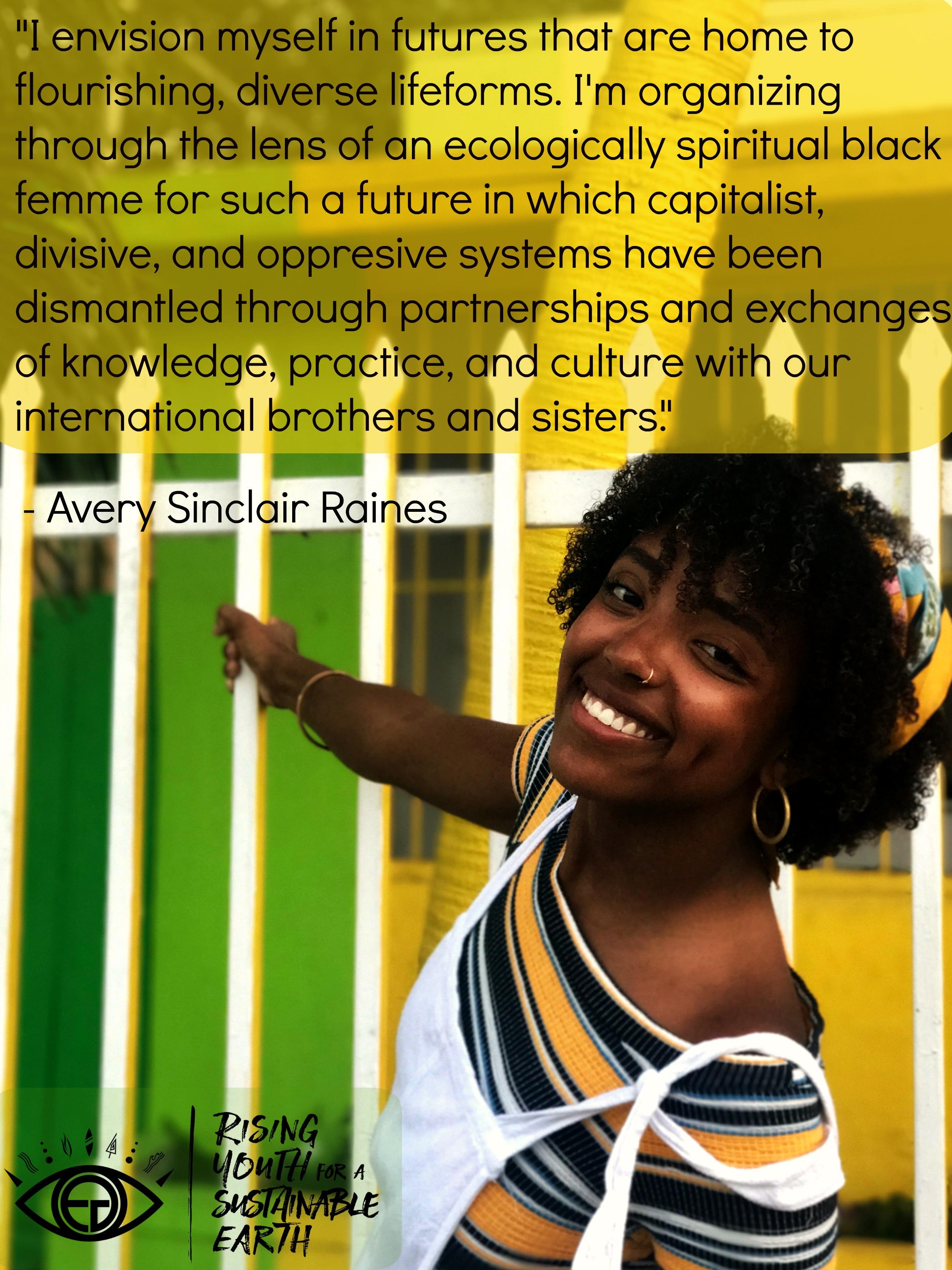 Avery Raines, age 22