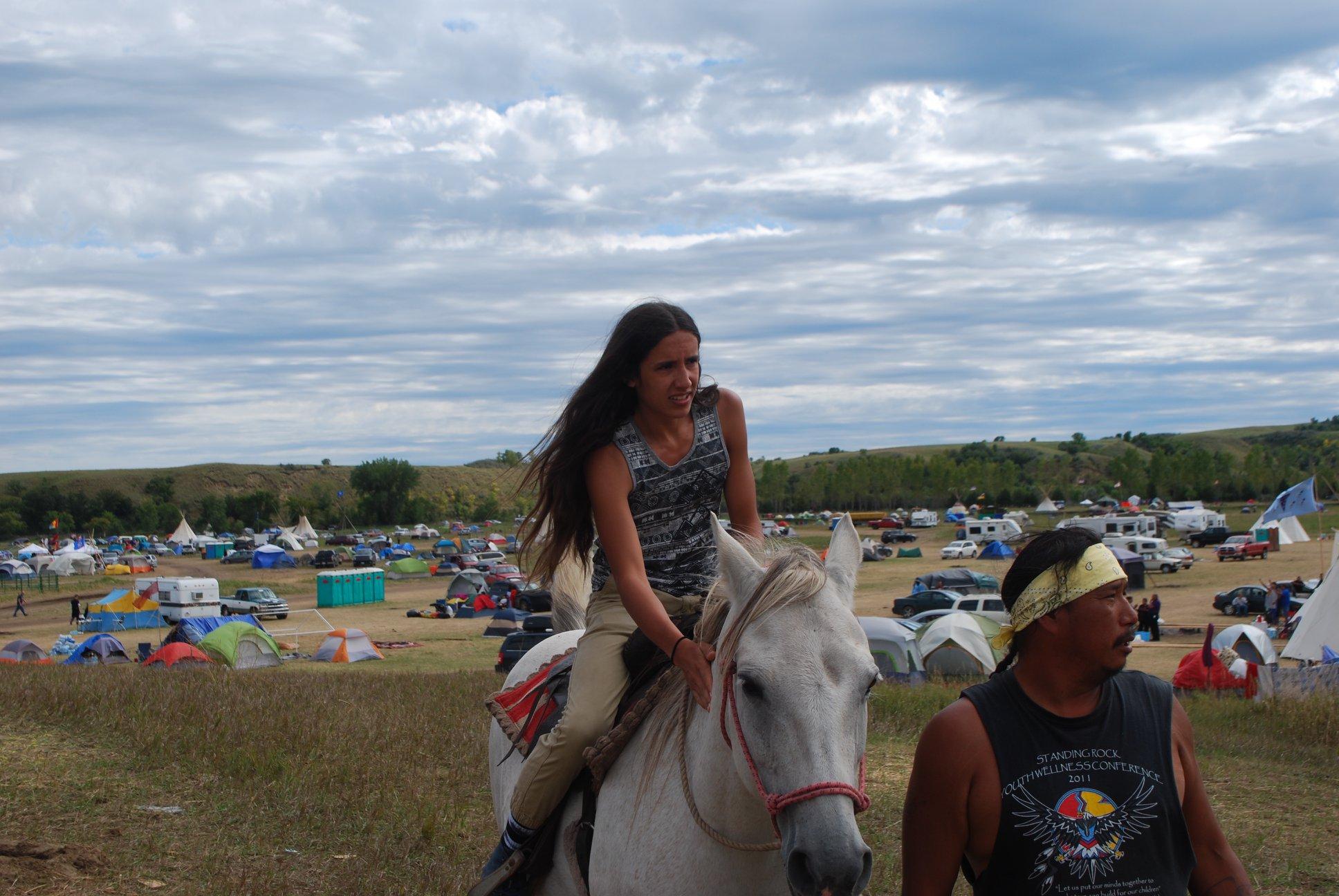 Xiuhtezcatl Martinez, Standing Rock ND, Oceti Sakowin, 2016