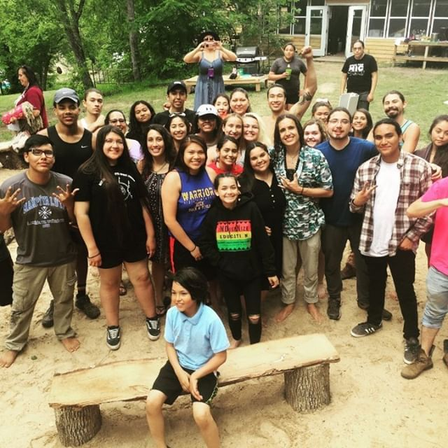 "Historic Indigenous Leadership Training - ""Words can't fully describe how amazing my experience at The Earth Guardians Leadership Training was. My spirit is lifted thanks to all the wonderful, powerful Indigenous people I met there. Thank you for showing me how the world should be. WANISHI ÒK KTAHOLHUMO"" ~ Ashton Dunkley"