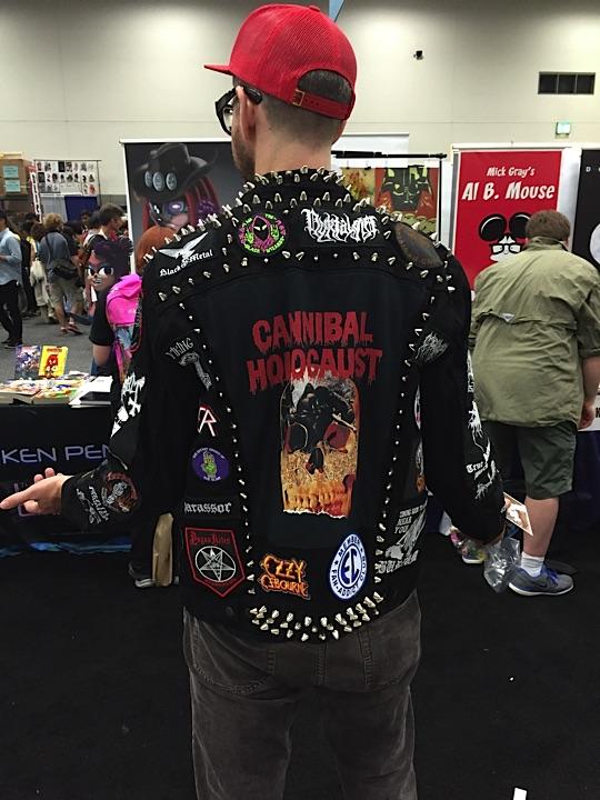 Johnny Ryans jacket was awe inspiring...