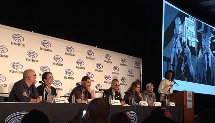 IMAGE Panel with Ed Brubaker, Tess Fowler, Kurtis Wiebe, Tom Neely, Greg Hinkle, Malachi Ward and David Brothers (moderator)
