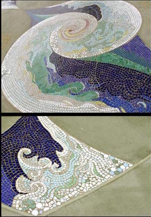 Shelter Island  San Diego, CA  tile mosaic