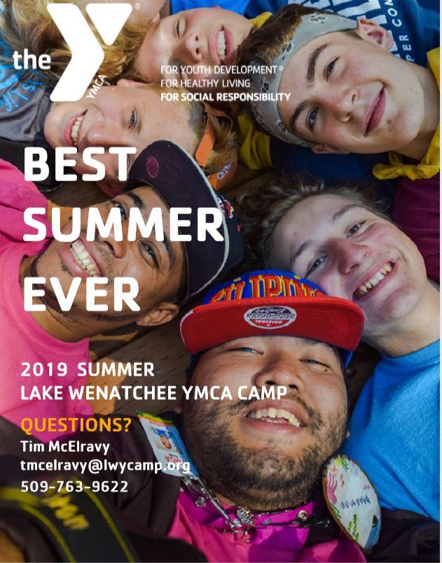 2019 LAKE WENATCHEE SUMMER CAMPS