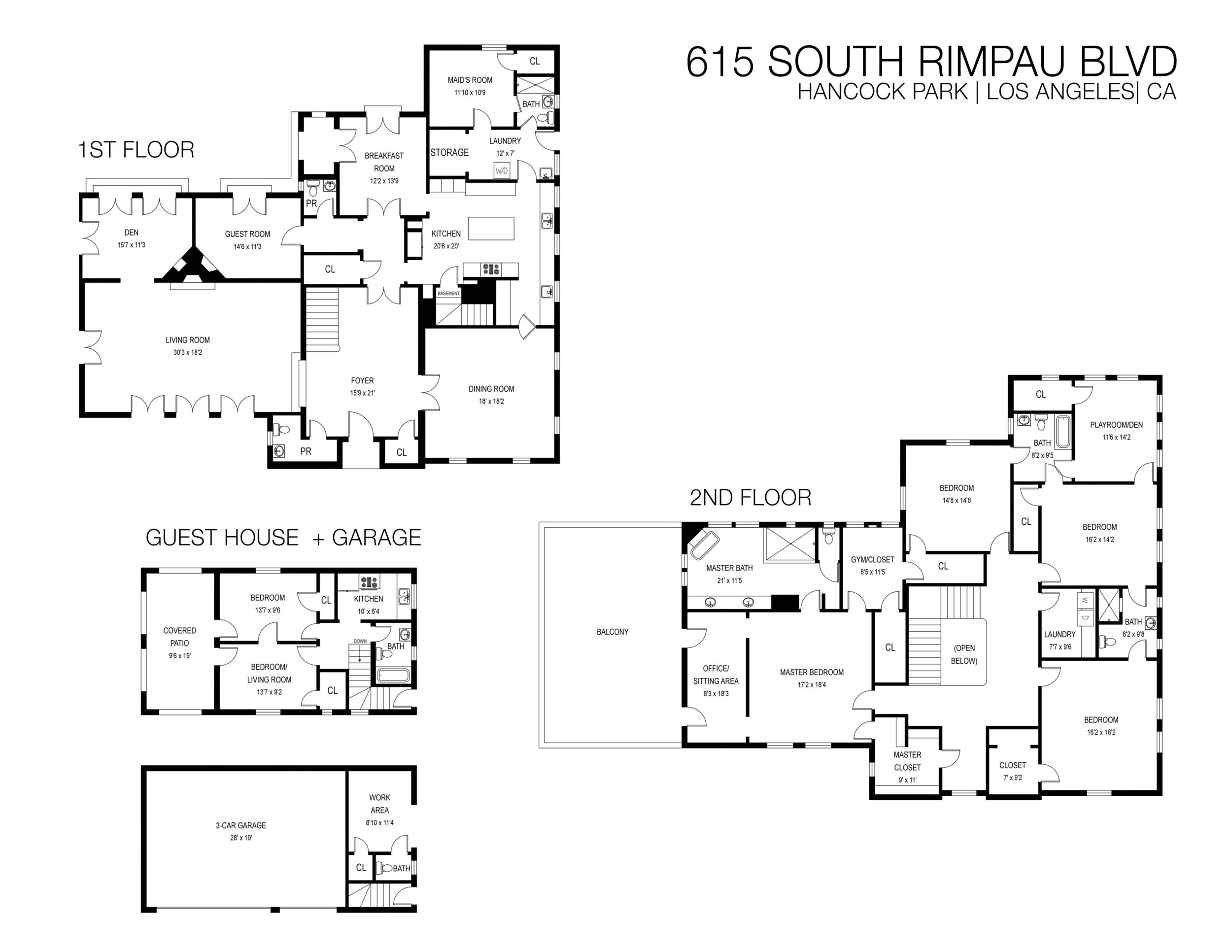 615 S Rimpau | Floor Plan Combined.png