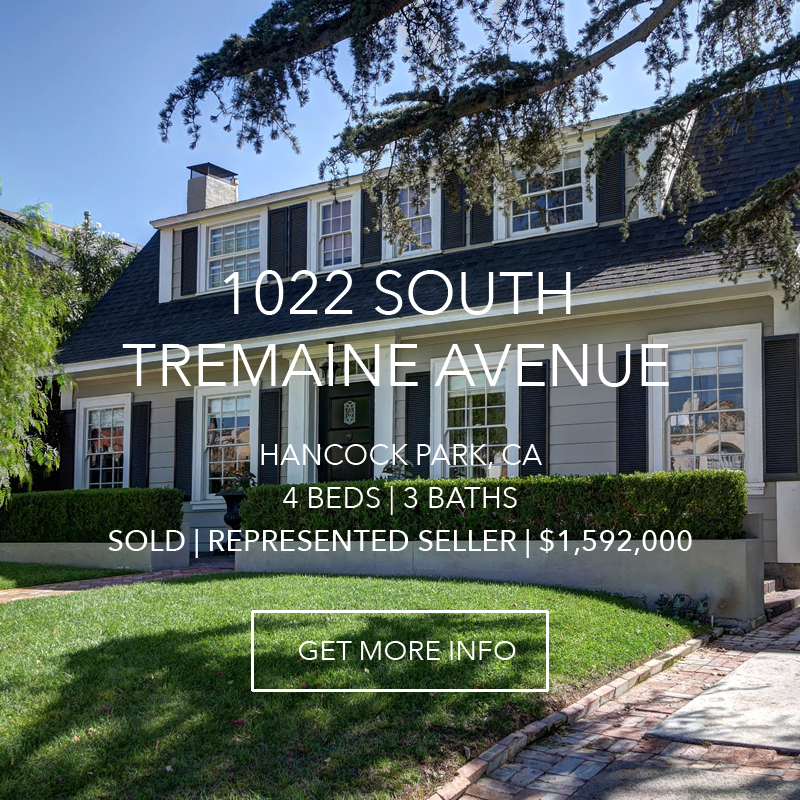 1022 S. Tremaine Avenue | Hancock Park