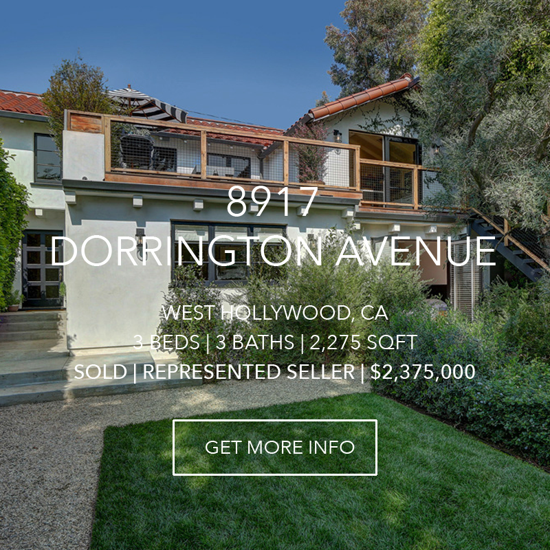 8917 Dorrington Avenue | West Hollywood