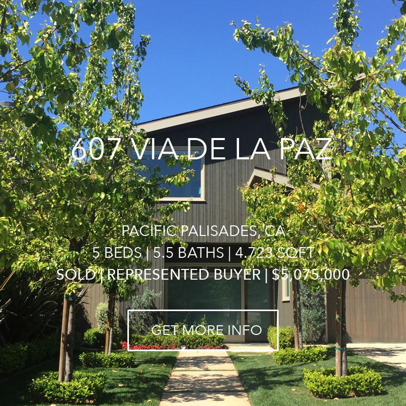 607 Via De La Paz | Pacific Palisades