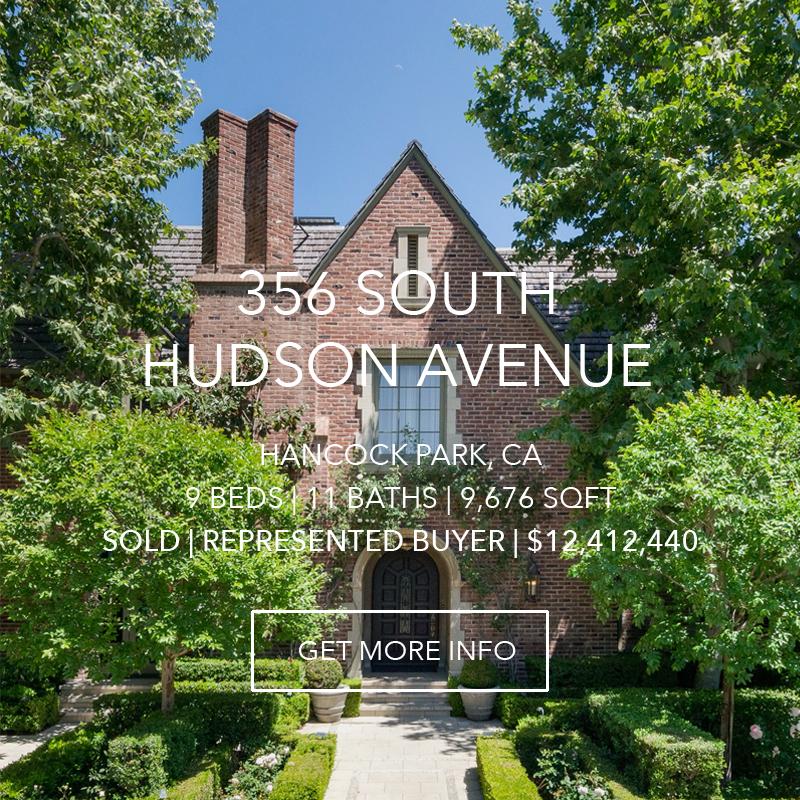 356 S. Hudson | Hancock Park