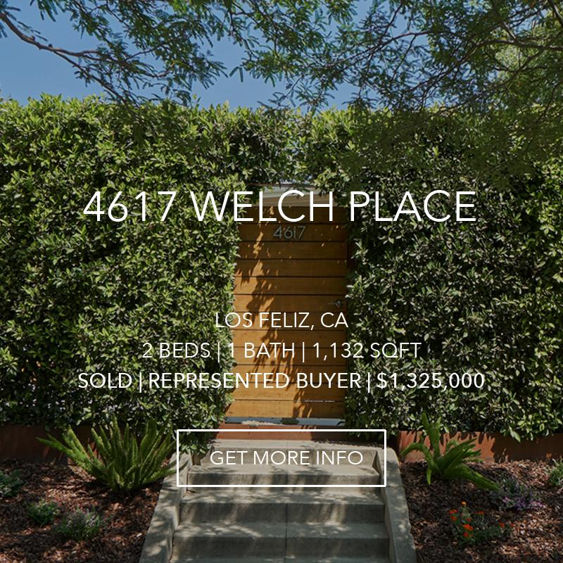 4617 Welch Place | Los Feliz