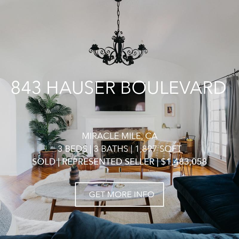 843 Hauser | Miracle Mile