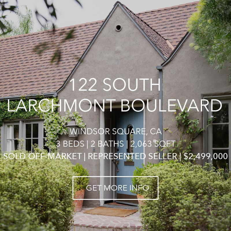 122 S. Larchmont | Windsor Square