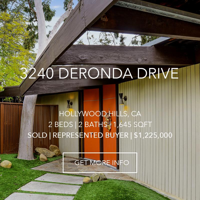 3240 Deronda Drive | Hollywood Hills