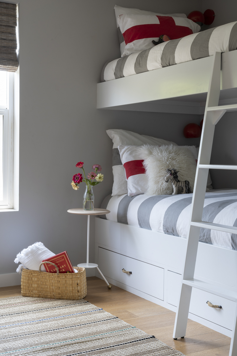 My kids and their friends love these bunkbeds so much!  Photo by Annie Meisel.