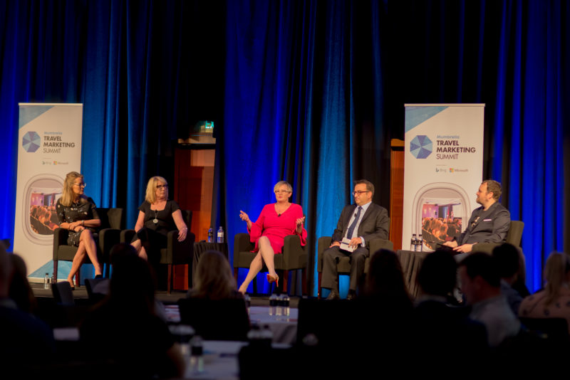 Q&A Sessions at Mumbrella Travel Marketing Summit. Image: Mumbrella