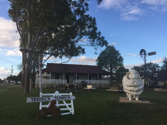 Ram Park and the Blackall Visitor Information Centre
