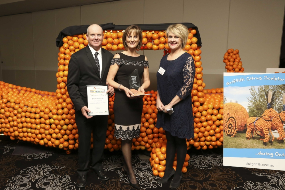 BIG4 Deniliquin took home Gold at the Inland Tourism Awards (2014) in Griffith.