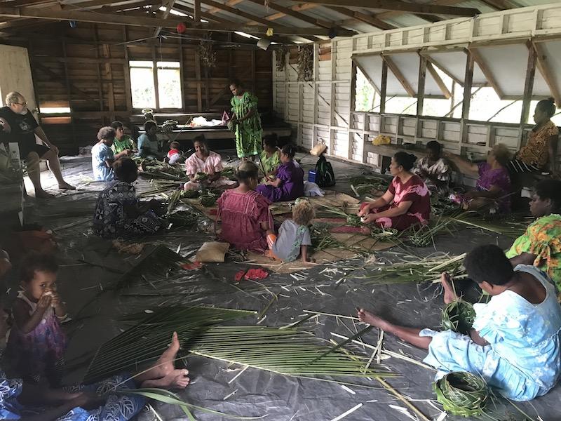 Basket weaving in Vanuatu.JPG