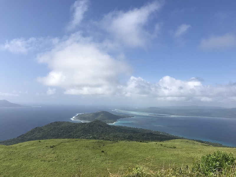 A view from the top of an old volcano - heaven!