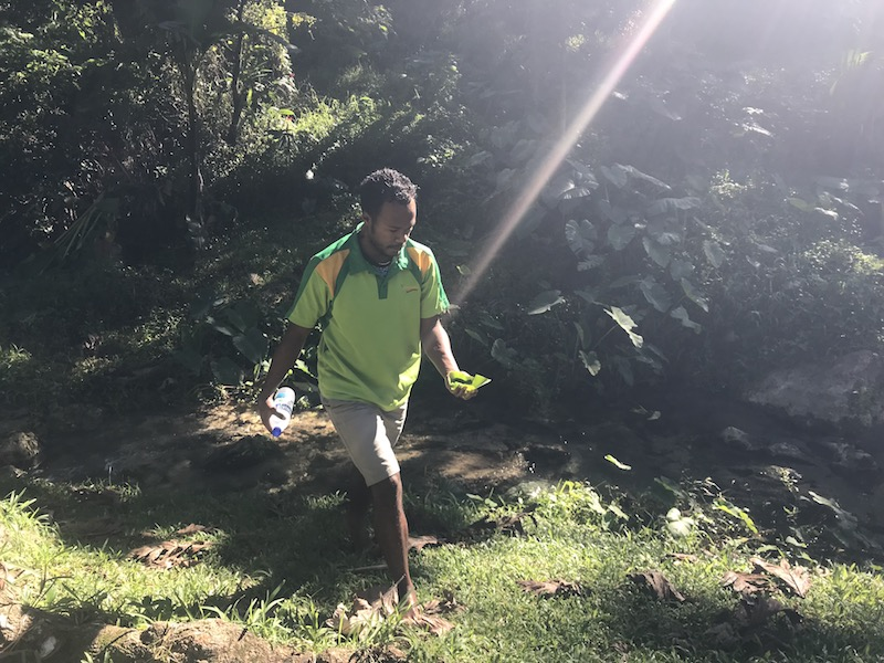 Exploring the Mele Cascades, another gorgeous place to visit in Port Vila