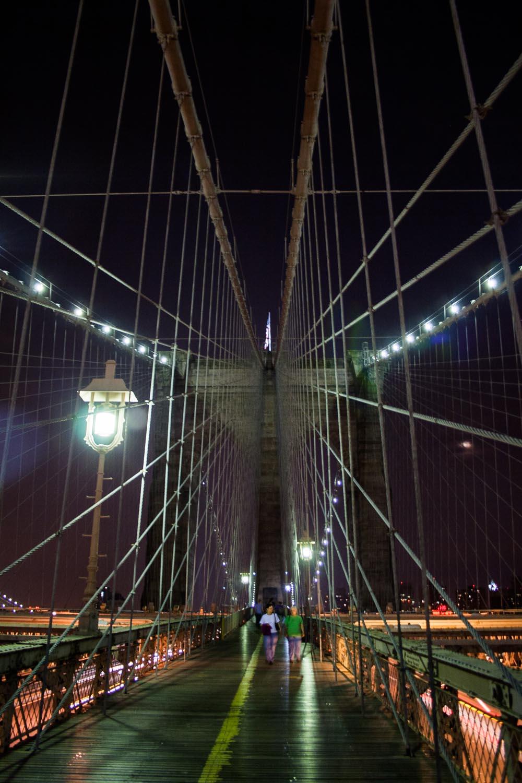 The BrooklynBridge: NYC