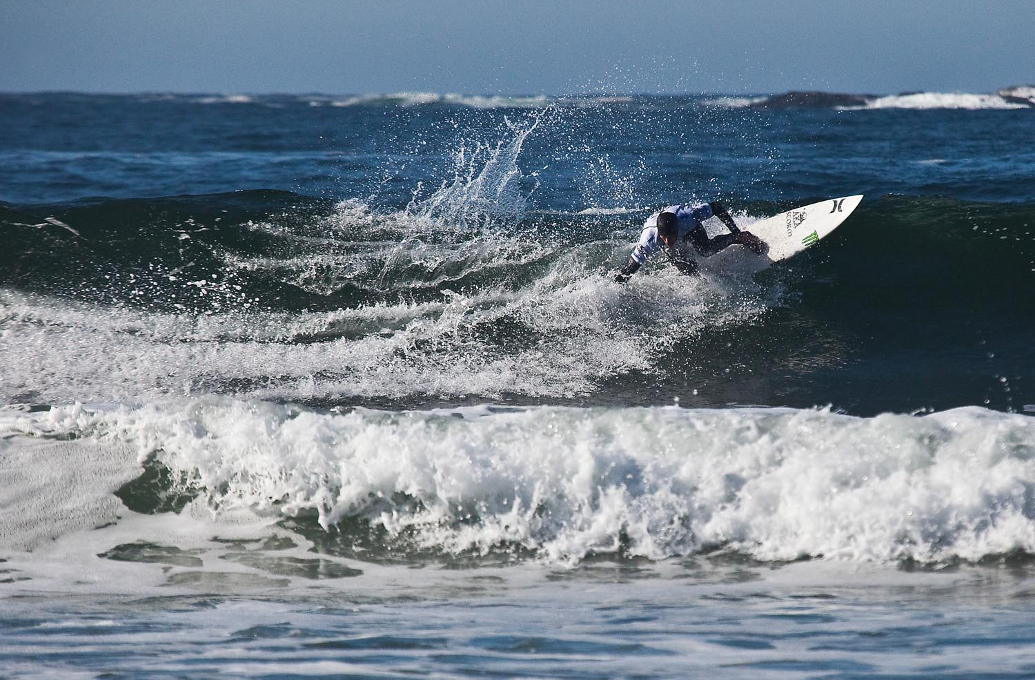Pete Devries competing in the O'Neill CWC: Tofino 2010
