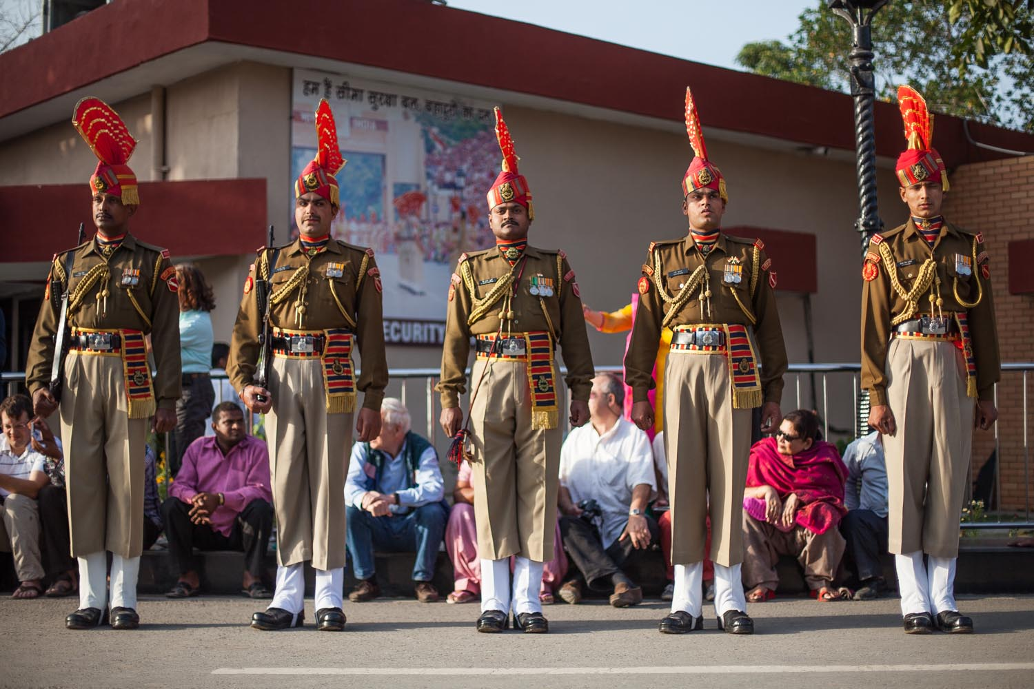The Wagah Border Ceremony: Amritsar, Punjab