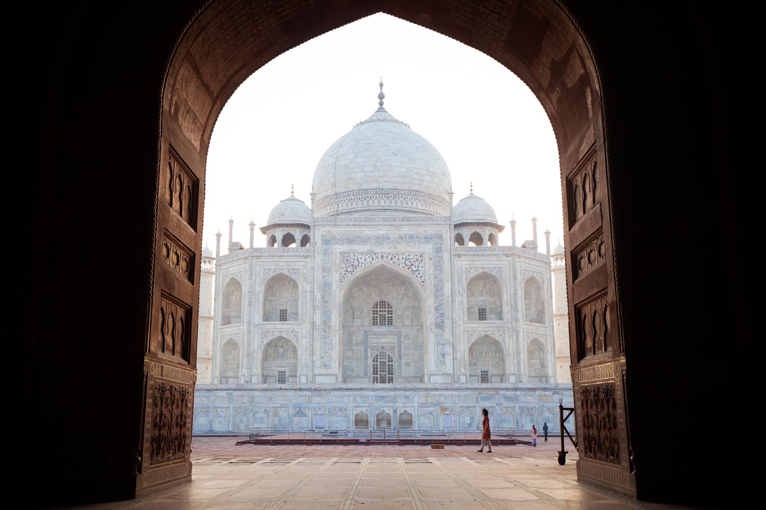 The Taj Mahal: Agra, Uttar Pradesh