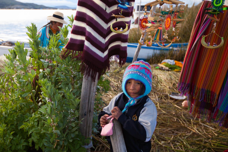 Islas Flotantes de los Uros, Perú