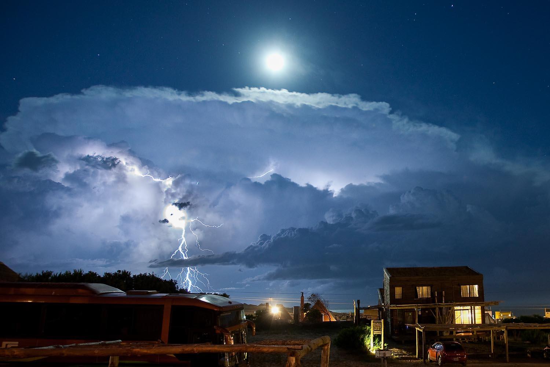 Electrical Storm: Punta Del Diablo, Uruguay