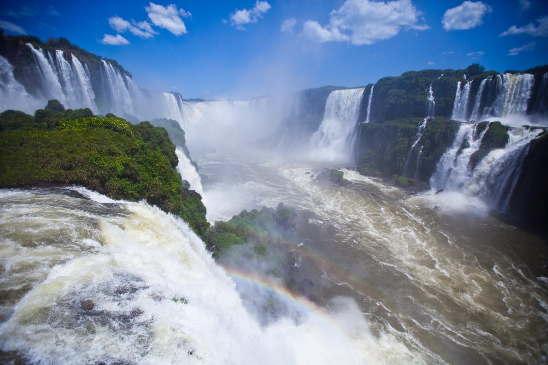 The Brazilian side: Foz do Iguacu, Brasil