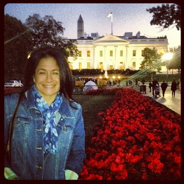 I am always happy to be in our nations capital!