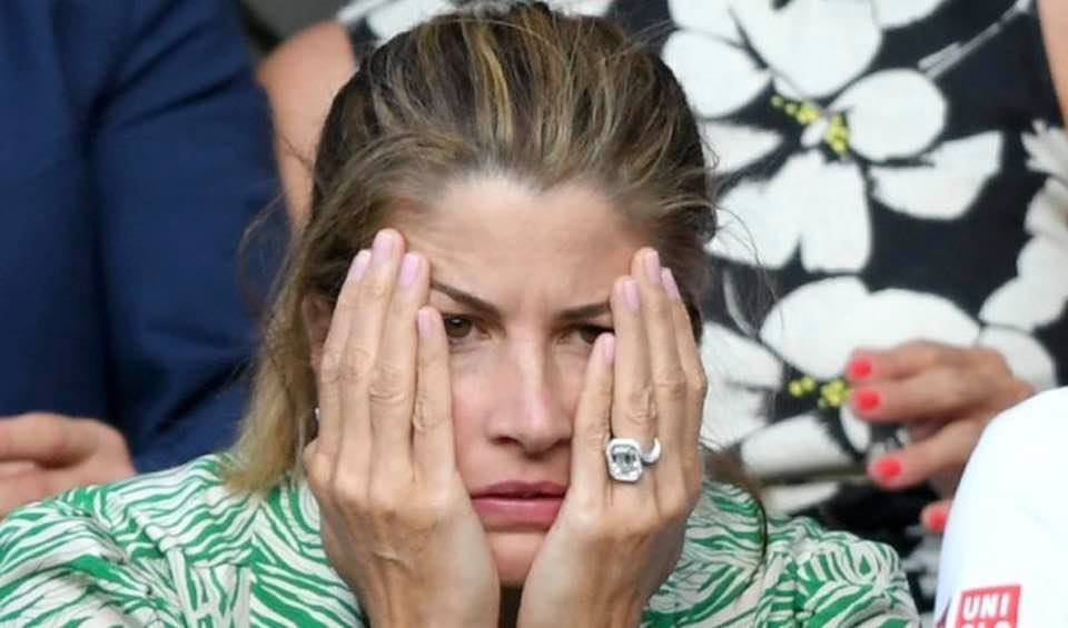 Oh how I empathize with Mirka Federer during her husband's match