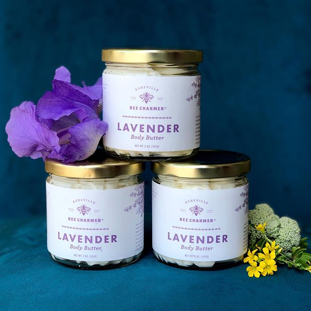 ✨ We are so excited to be carrying these amazing body care products by @ashevillebeecharmer ✨  Asheville Bee Charmer is a local company dedicated to growing and supporting our local community of artists and beekeepers. We love what they do and we love their products! This lavender body butter with organic beeswax and honey in it is simply sublime. It feels silky and light and your skin will feel oh so loved 💜   #stillpointwellness #asheville #locallove #828isgreat #ashevillespa #sensorydeprivation #beelove #bodybutter #esalen #massage #ashevillemassage