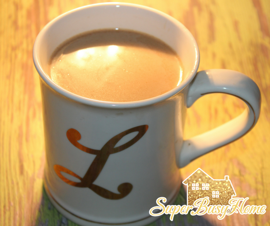 A Few of My Favorite Things...Coffee!  Super Busy at Home