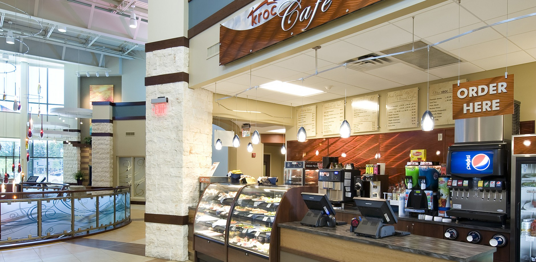 Delicious and Nutritious treats at the Kroc Cafe, Kroc Center, South Bend IN.