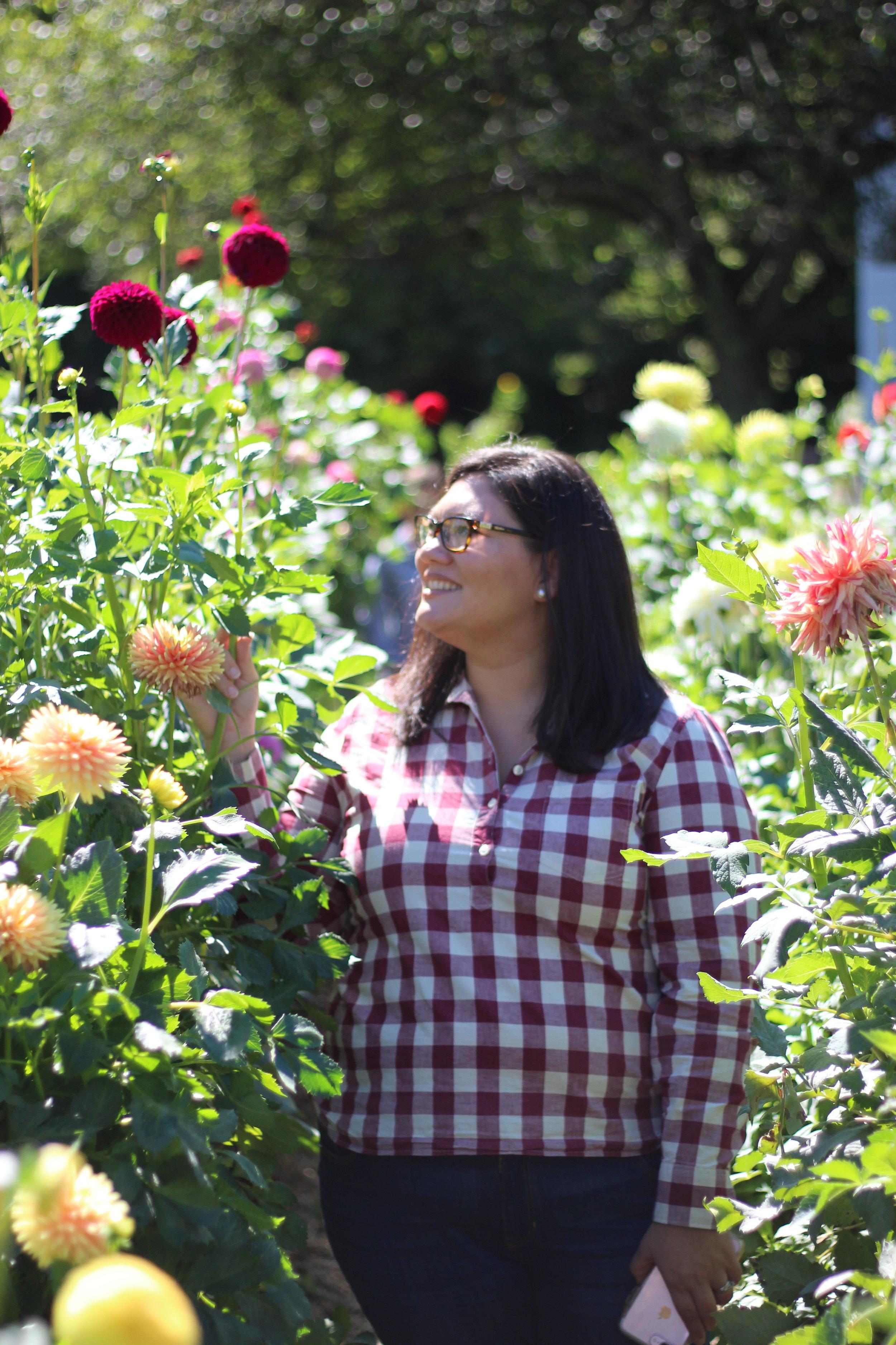 Amazing Flower Garden at Bonneville Mill, Bristol Indiana