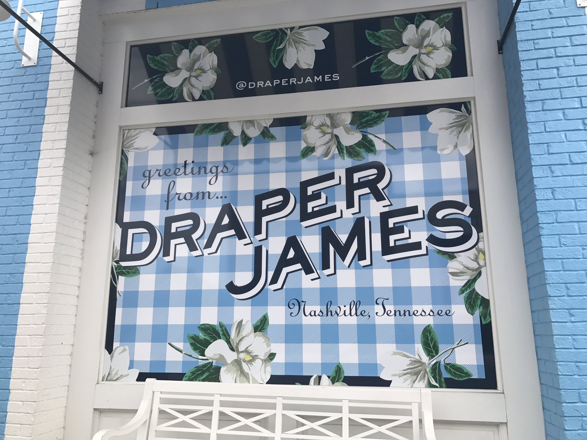 Great Kid Friendly places to Visit in Nashville,  there is no end to the cuteness of everything at Draper James in Nashville TN