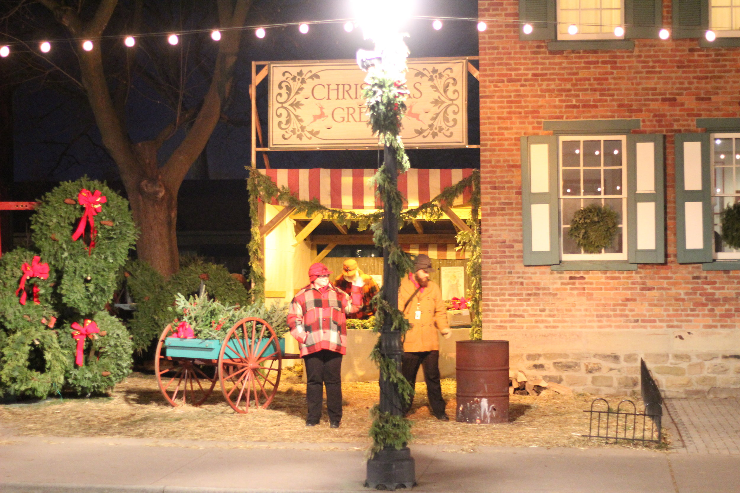 Seasonal Decor for purchase Holiday Nights Greenfield Village