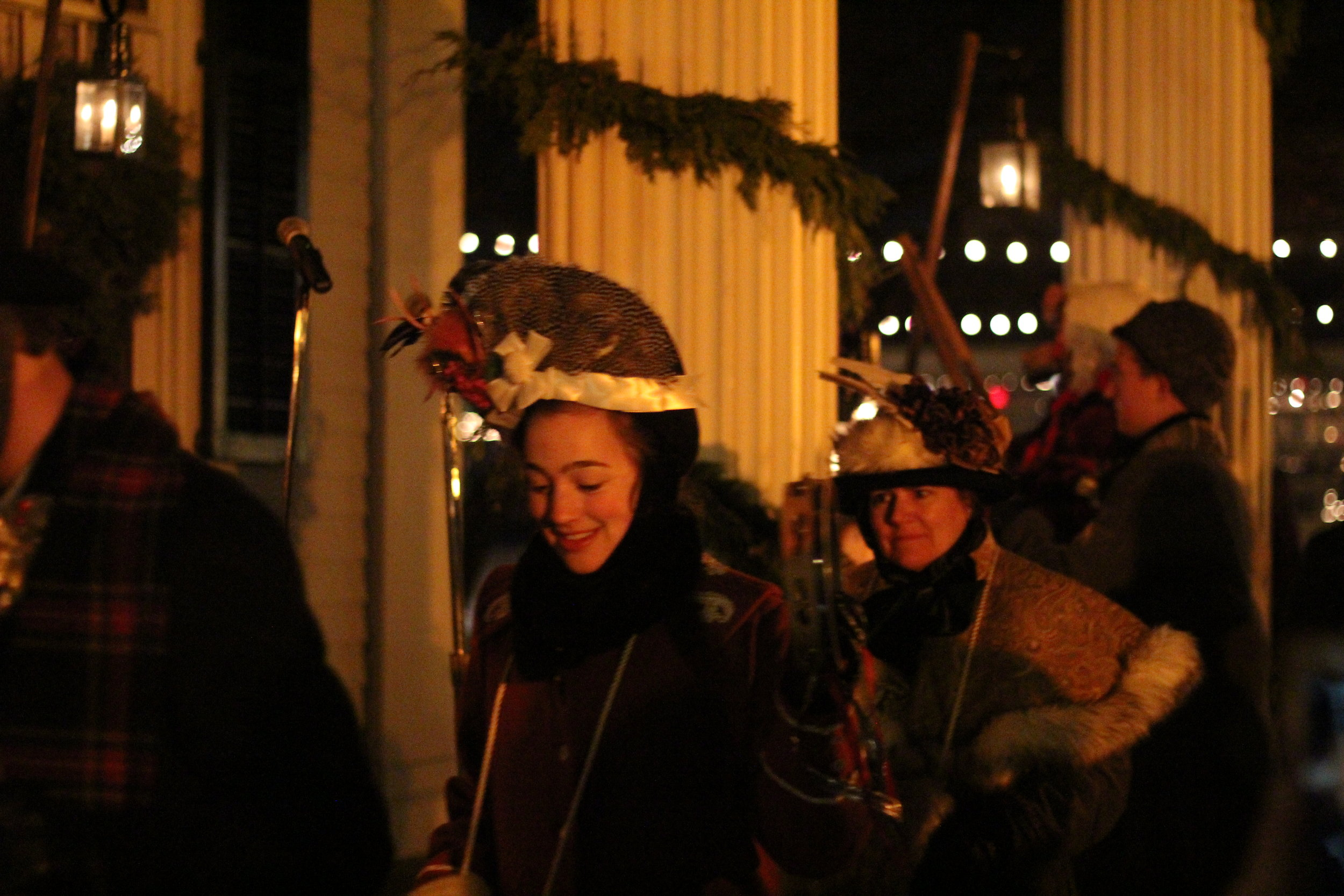 Carolers @ Holiday Nights, Greenfield Village