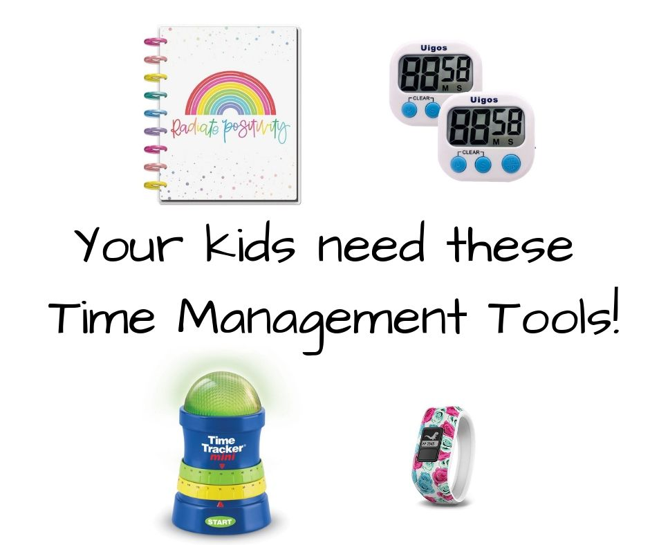 Helping Kids to Manage their time in school and throughout their day to live intentionally.