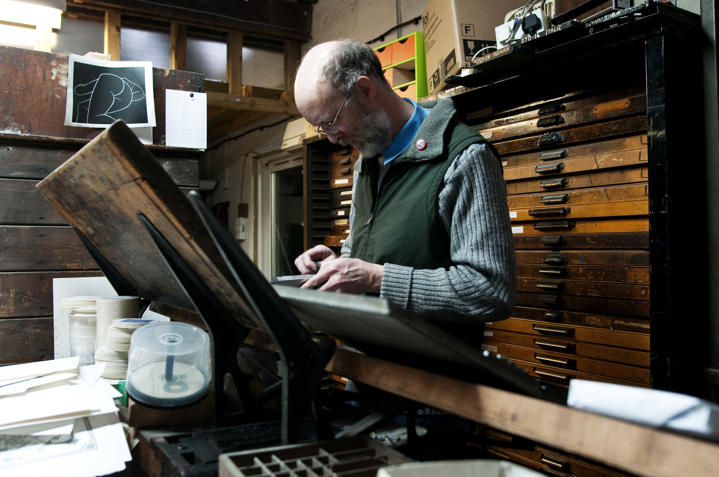 Printmaker, Bath