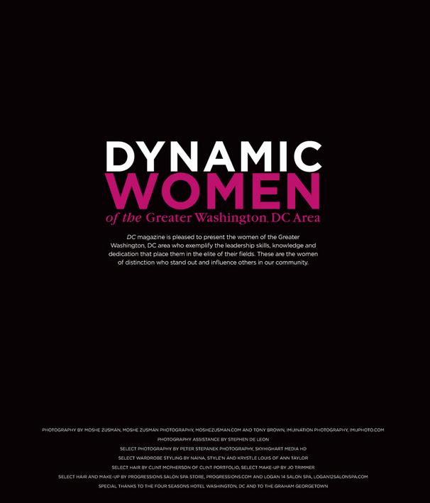 DC'S MOST DYNAMIC WOMEN
