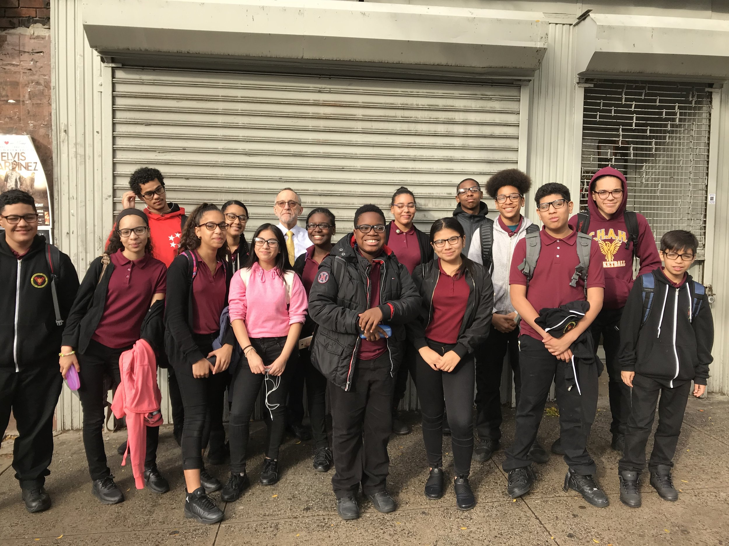 CHAH Students Get Free Glasses from Broadway Vision Center