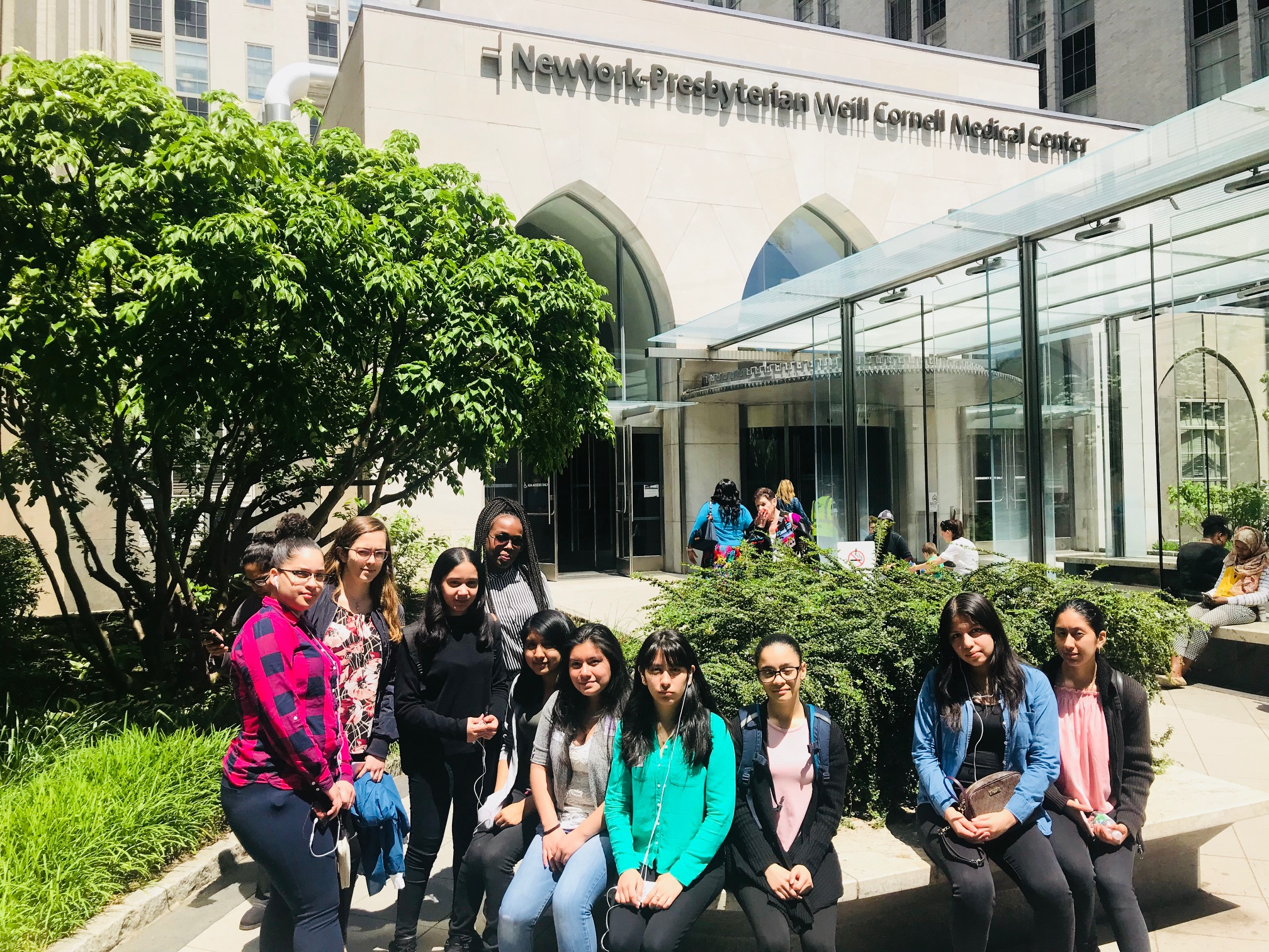10th Graders Tour Weill Cornell Medical Center — The
