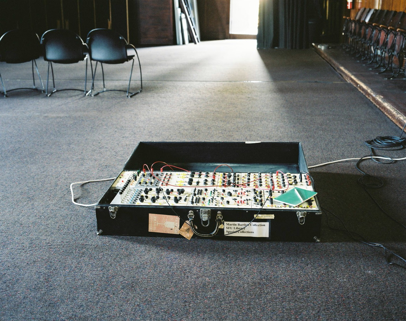The Black Box, photo by Luke Fowler.