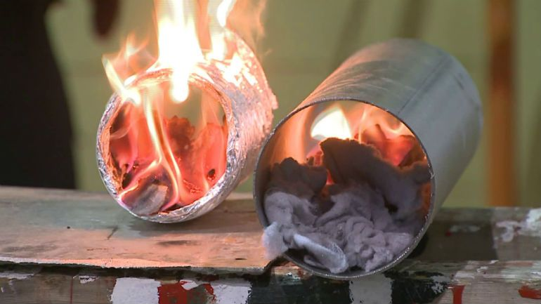 Lint is highly flammable and should removed from your drying system at least once a year